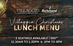 Villaggio Christmas Day Lunch