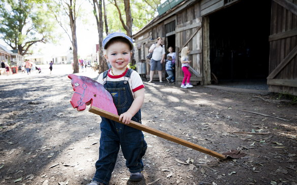 Get into character at Australiana Pioneer Village